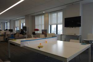 Ping Pong, anyone? Mashable moments include play time.